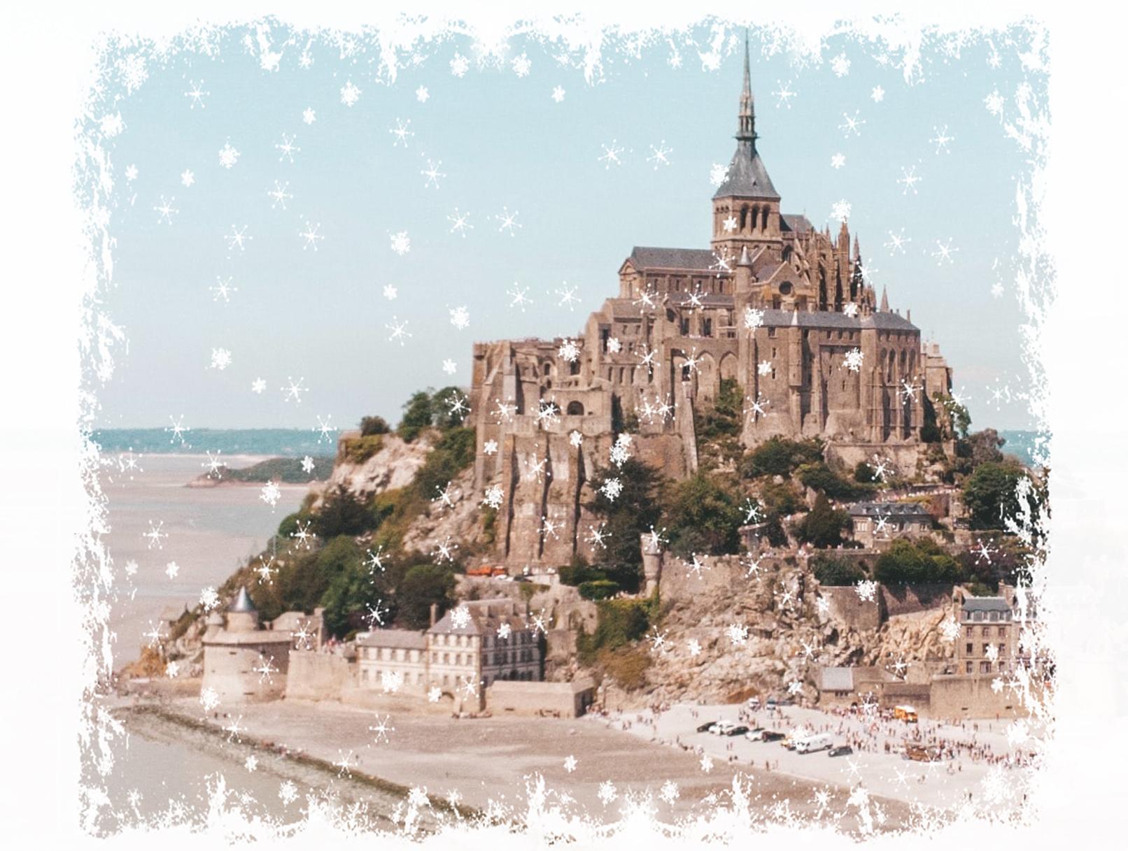 Au sommet du Mont-Saint-Michel